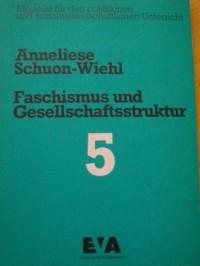 Faschismus und Gesellschaftsstruktur. Am Beispiel mit der Aufstiegs des Nationalsozialismus. Mit eine Einleitung von Karl ì Theodor Schuon.