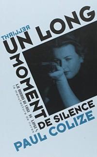 Un long moment de silence - Prix Landerneau 2013