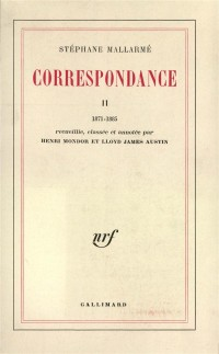 Correspondance - Tome II : 1871-1885