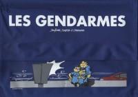 Les Gendarmes, Tome 1 à 4 : Sacoche 4 BD et vignette anti-PV : Flagrant délire; Procès vert pâle; Radar-dare; Amende honorable
