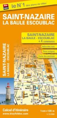 Plan de Ville de Saint Nazaire