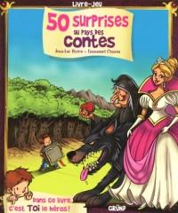 Livre-jeu 50 surprises au pays des contes