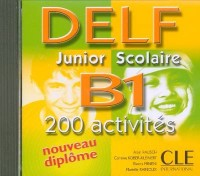 CD Delf Junior Scolaire B1