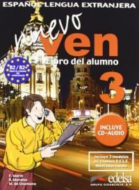 Nuevo ven 3 livre + CD