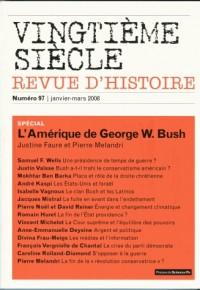 Vingtième siècle, N° 97 : L'Amérique de Bush