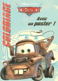 Coloriage Cars Quatre Roues : Avec un poster !