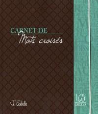Carnet de mots croisés - 165 grilles