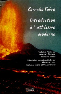 Introduction a l'atheisme moderne