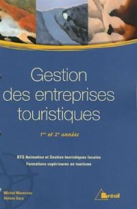 Gestion des entreprises touristiques 1e et 2e années