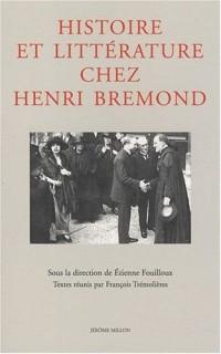 Histoire et littérature chez Henri Brémond