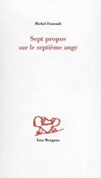 Sept propos sur le septième ange