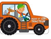 Hugo et son tracteur ; livre à roues