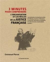 3 minutes pour comprendre l'organisation les acteurs et les codes de la justice française