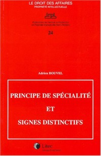 Principe de spécialité et signes distinctifs (ancienne édition)