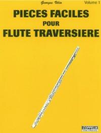 Partition: Flute traversiere vol. 1 pieces faciles
