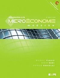 Introduction à la microéconomie moderne 4e édition
