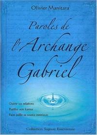 Paroles de l'Archange Gabriel