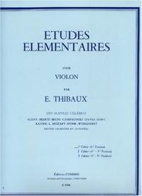 Etudes élémentaires vol.1