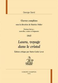 uvres complètes sous la direction de Béatrice Didier. Fictions brèves: nouvelles, contes et fragments. Responsables scientifiques : Simone ... 1865.