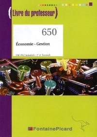 Economie - Gestion 1e et Tle Bac pro industriels : Livre du professeur
