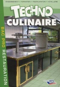 Techno culinaire  Bac Pro