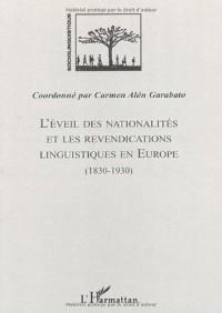 L'éveil des nationalités et les revendications linguistiques en Europe