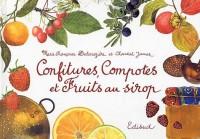 Confitures, compotes et fruits au sirop