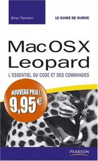 Mac os X Leopard guide de survie nouveau prix