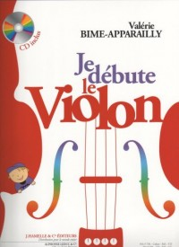 Je débute le violon + cd