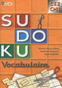 Sudoku Vocabulaire CE2 CM1