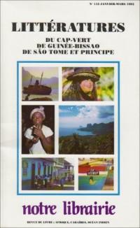 112- Littératures du Cap-Vert, de Guinee Bissao, de Sao Tome et Princi