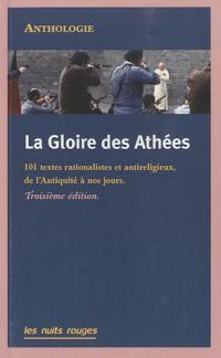 La gloire des athées / réédition