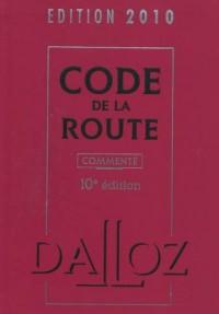 Code de la route 2010, commenté