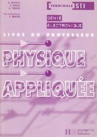 PHYSIQUE APPLIQUEE GENIE ELECTRONIQUE ED 2003 LIVRE DU PROF 1E