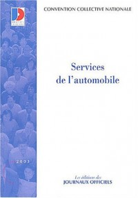 Services de l'automobile, édition 2003