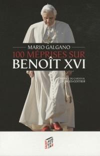 100 méprises sur Benoît XVI