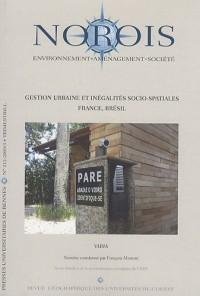 Norois, N° 212 : Gestion urbaine et inégalités socio spatiales