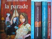 lot 5 livres jean louis curtis : un jeune couple - l'echelle de soie - cygne sauvage - la parade - le roseau pensant