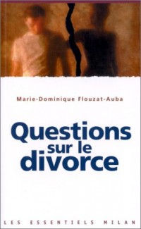 Questions sur le divorce