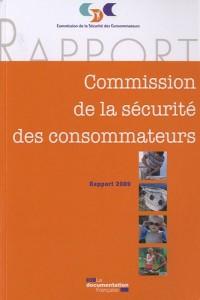 Commission de la sécurité des consommateurs, Rapport 2009 (1Cédérom)