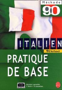 Italien, pratique de base (1 livre + coffret de 5 cassettes)