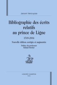 Bibliographie des écrits relatifs au prince de Ligne
