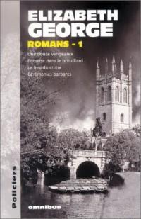 Elizabeth George : Romans, numéro 1
