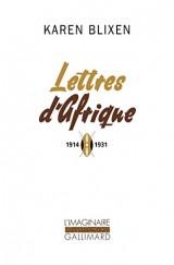 Lettres d'Afrique: (1914-1931) [Poche]