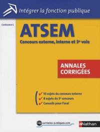 ATSEM - Annales corrigés
