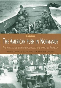 The american push in Normandy