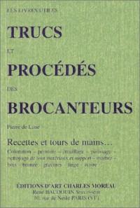 Trucs et procédés des brocanteurs