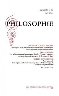Philosophie N 134
