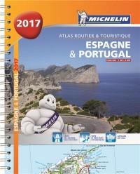 Espagne & Portugal 2017 - Atlas Routier et Touristique