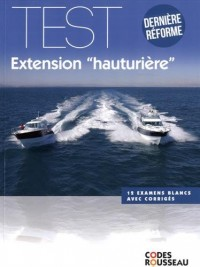 Code Rousseau test extension hauturière 2016